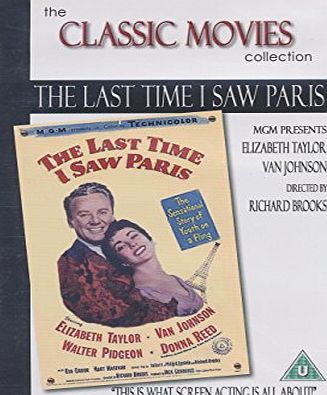 The Classic Movies Collection The Last Time I Saw Paris [DVD]